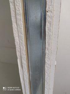 2 реда плоскости от гипсокартон