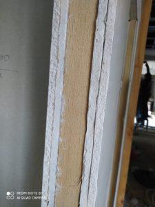 изграждане на стена от гипсокартон