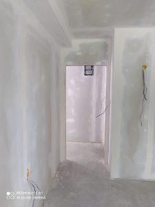 замазка на стена от гипсокартон