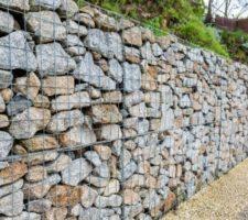 стена от габиони